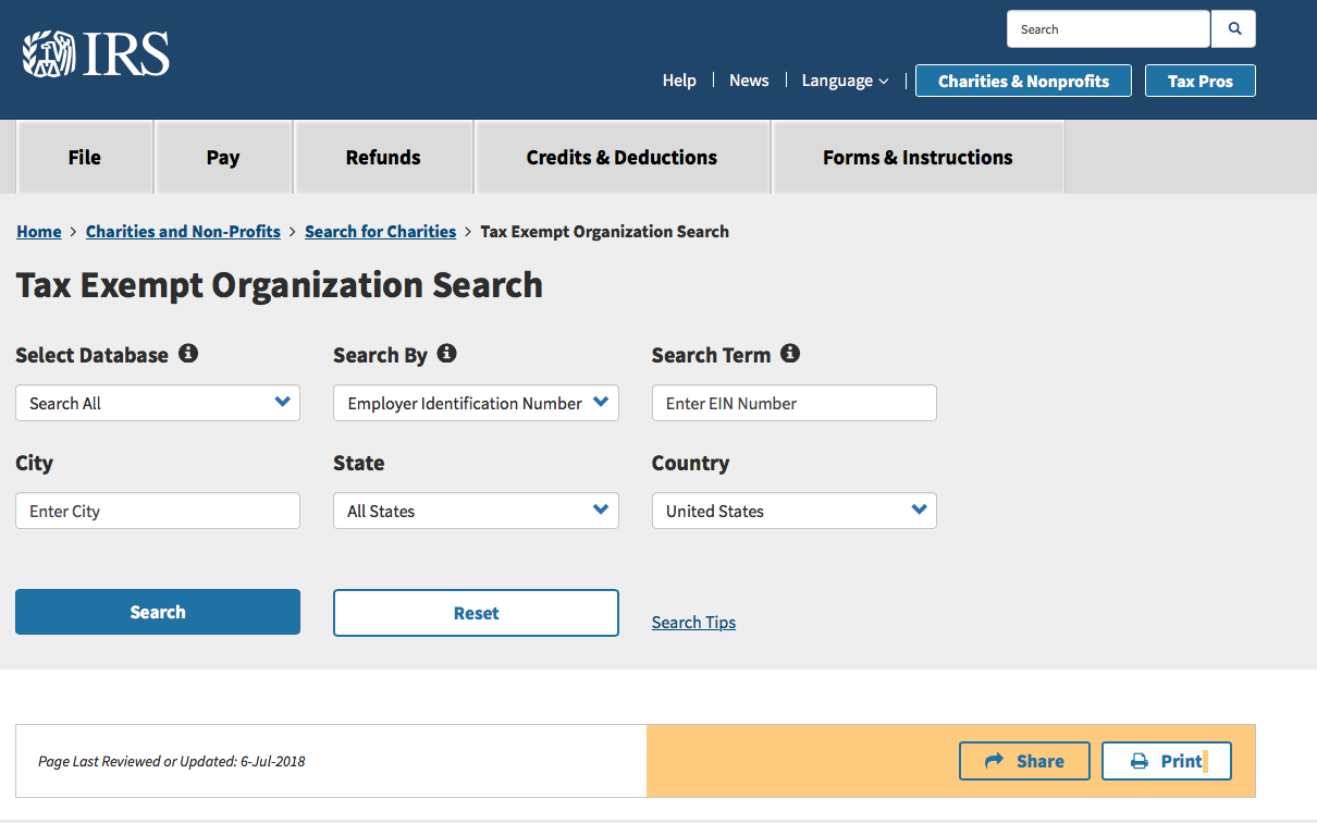 How to use the IRS organization research toolbar taxes and bookkeeping