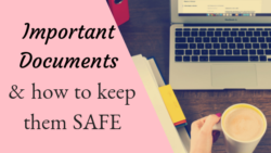 Keeping Important Documents Safe Bookkeeping Payroll