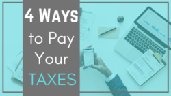 how to pay taxes