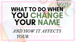 Taxes Bookkeeping Payroll Bookkeeper Change Name